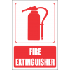 FB2E - Fire Extinguisher Explanatory Safety Sign