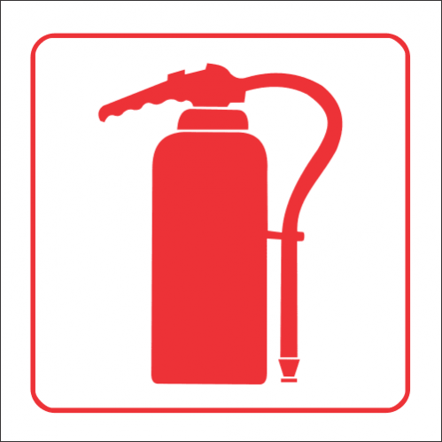 FB2 - Fire Extinguisher Safety Sign