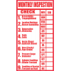 FR22 - Fire Extinguisher Checklist Safety Sign