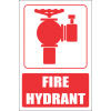 FB4E - Fire Hydrant Explanatory Safety Sign