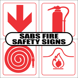 SABS Fire Safety Signs