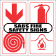 Standard Fire Safety Signs