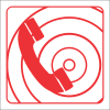 FB7 - Fire Telephone Safety Sign