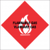 FR9 - Flammable Gas Safety Sign