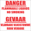 FR5 - Flammable Liquids Safety Sign