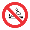 FR2 - No Smoking Safety Sign