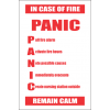 FR41 - Panic Safety Sign