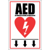 FA23 - AED Automated External Defibrillator Ahead Sign