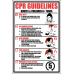 FA32 - CPR Guidelines Sign