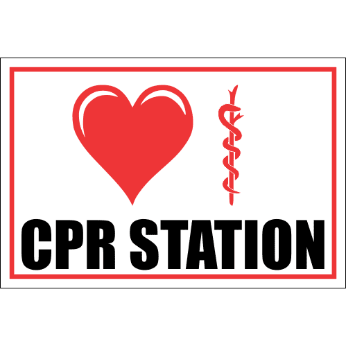FA34 - CPR Station Sign