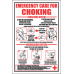FA10 - Emergency Care For Choking Sign