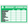 FA28 - Emergency Information Sign