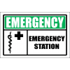 FA38 - Emergency Station Sign