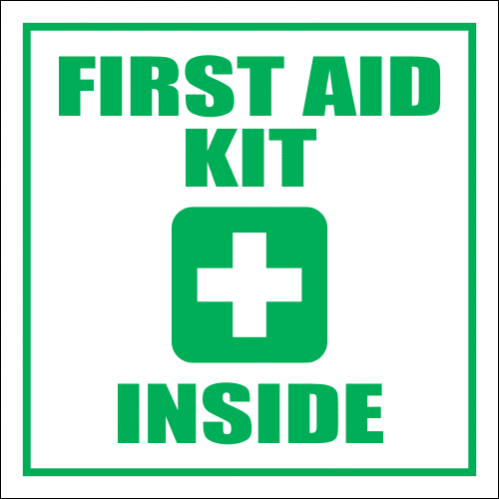 FA48 - Notice First Aid Box Sign