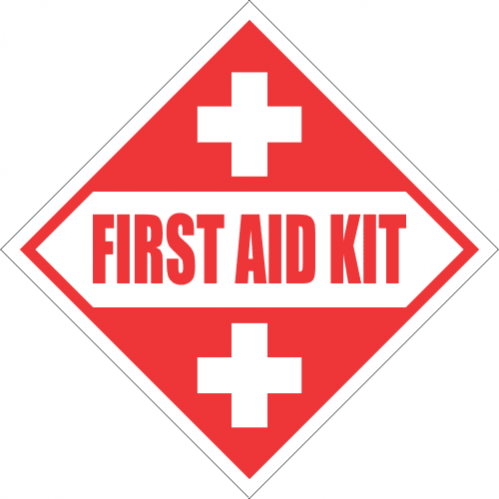 FA49 - First Aid Kit Sign