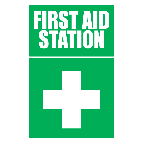FA18 - First Aid Station Sign