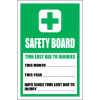 FA21 - Safety Board Sign