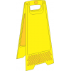 FS27 - Blank A-Frame Floor Stand - Yellow