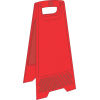 FS40 - Blank A-Frame Floor Stand - Red