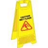 FS12 - Caution Wet Floor A-Frame Floor Stand