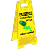 FS37 - Chemical Spill A-Frame Floor Stand