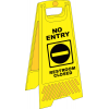 FS18 - No Entry A-Frame Floor Stand