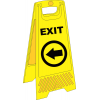 FS33 - Temporary Exit Left A-Frame Floor Stand