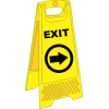 FS34 - Temporary Exit Right A-Frame Floor Stand