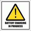 GAS21 - Battery Charging Sign