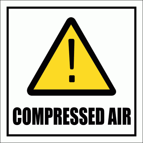 GAS22 - Compressed Air Sign