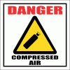 GAS24 - Danger Compressed Air SigN
