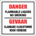 GAS16 - Danger Flammable Liquids Sign