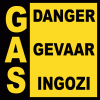 GAS13 - GAS Danger Sign
