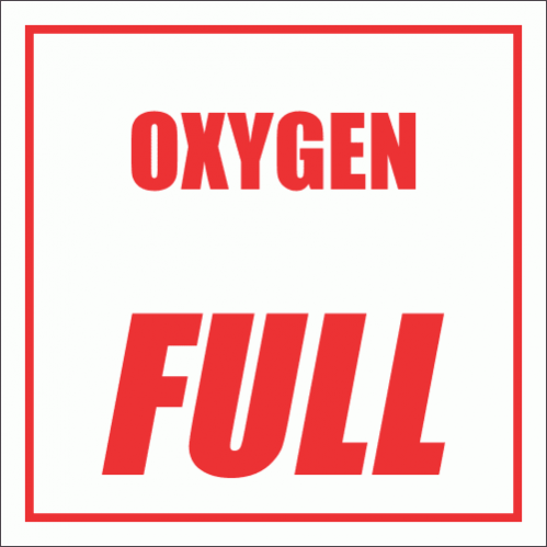 GAS5 - Oxygen Full Sign