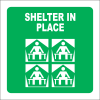 GA25 - SABS Shelter In Place Sign