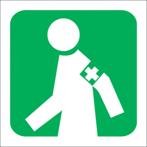 GA5 - SABS Manned First Aid Station Sign
