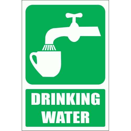 GA6E - Drinking Water Explanatory Sign