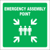 GA26 - SABS Emergency Assembly Point Sign