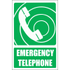 GA15E - Emergency Telephone Explanatory Sign