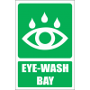 GA19E - Eye-Wash Bay Explanatory Sign