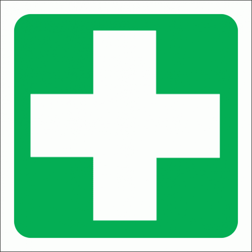 GA1 - First Aid Equipment Sign