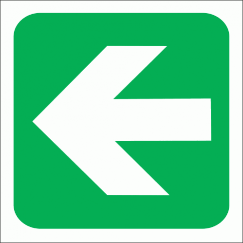 GA2 - General Direction Sign