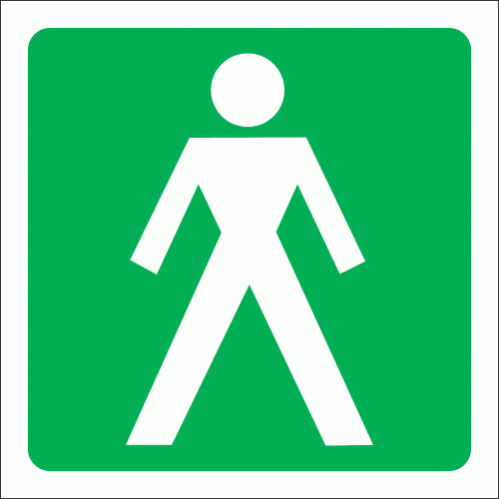 GA11 - Gents Toilet Sign
