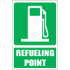 GA9E - Fueling Point Explanatory Sign