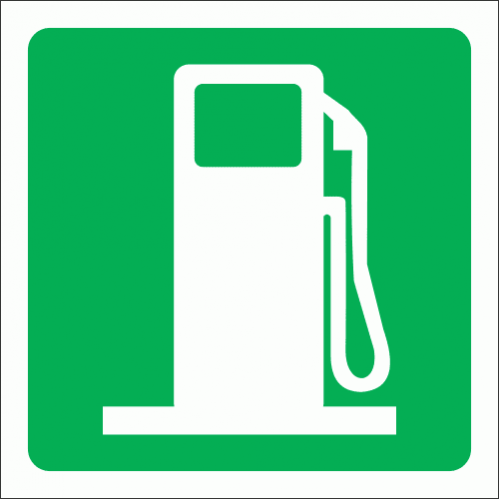 GA9 - Fueling Point Sign