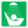 GA20 - Safety Shower Sign