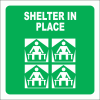 GA25 - Shelter In Place Sign