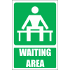 GA14E - Waiting Area Explanatory Sign