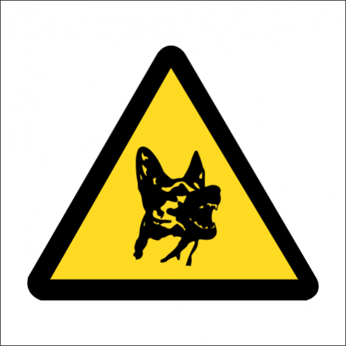 WW19 - SABS Beware Of The Dog Safety Sign
