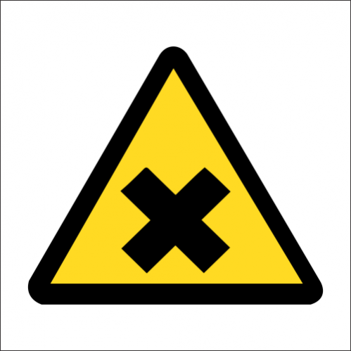 WW44 - SABS Harmful Chemicals Safety Sign